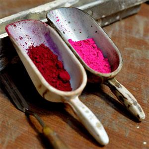 Pigmenti per artisti e restauratori