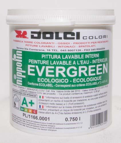 Pittura Lavabile Per Interni Evergreen Dolci Colori Srl Terre Coloranti Naturali